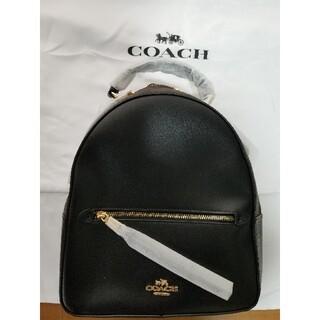 COACH コーチ リュック バッグブラック シグネチャー F76622 黒