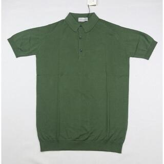 ジョンスメドレー(JOHN SMEDLEY)の新品 ジョンスメドレー XXLサイズ  SEPAL GREEN(ポロシャツ)