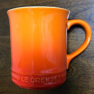 ルクルーゼ(LE CREUSET)のLE CREUSET ルクルーゼ マグカップ オレンジ グラデーション(グラス/カップ)