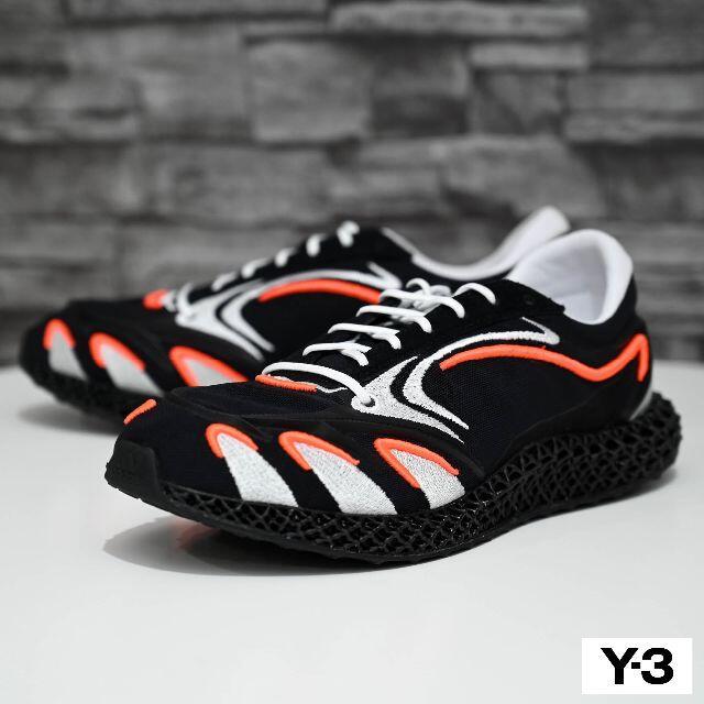 Y-3(ワイスリー)の新品 2020AW adidas Y-3 Runner 4D メンズの靴/シューズ(スニーカー)の商品写真
