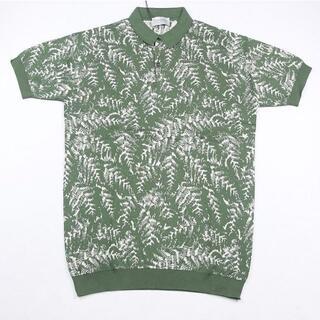ジョンスメドレー(JOHN SMEDLEY)の新品 ジョンスメドレー ポロシャツ Mサイズ SEPAL GREEN/BNB(ポロシャツ)