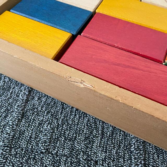 BorneLund(ボーネルンド)のBornelund ボーネルンド  積木 43ピース 知育玩具 木製 直方体 キッズ/ベビー/マタニティのおもちゃ(積み木/ブロック)の商品写真