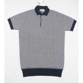 ジョンスメドレー(JOHN SMEDLEY)の新品 ジョンスメドレー ポロシャツ Sサイズ HEPBURN SMOKE(ポロシャツ)