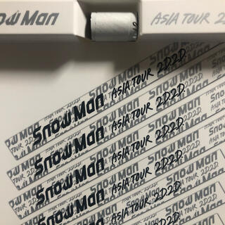 SnowMan 銀テープ 銀テ