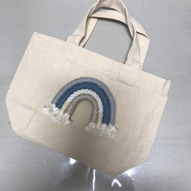 ALEXIA STAM(アリシアスタン)のレインボー マクラメ トートバッグ レディースのバッグ(トートバッグ)の商品写真