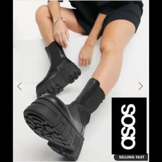 エイソス(asos)のASOS ミドルブーツ(ブーツ)