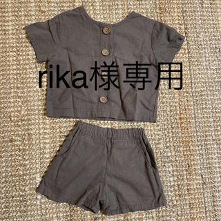 【美品】韓国子供服 セットアップ 80-90センチ