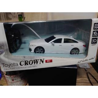 トヨタ(トヨタ)のTOYOTA クラウン 白 RCカー ラジコン(ホビーラジコン)