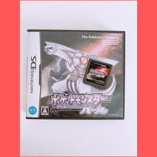 ポケモン(ポケモン)のポケットモンスター パール ゲームソフト DS ブラック Y(携帯用ゲームソフト)
