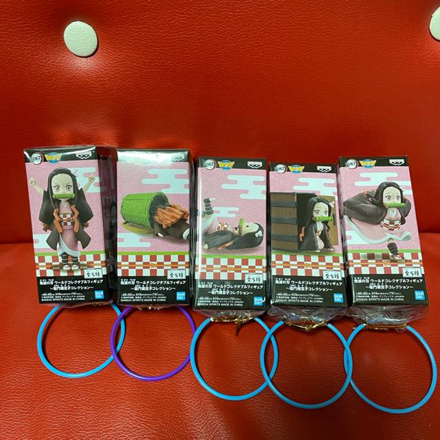 BANPRESTO(バンプレスト)の@専用@ 鬼滅の刃 ねずこ ワーコレ コンプ エンタメ/ホビーのおもちゃ/ぬいぐるみ(キャラクターグッズ)の商品写真