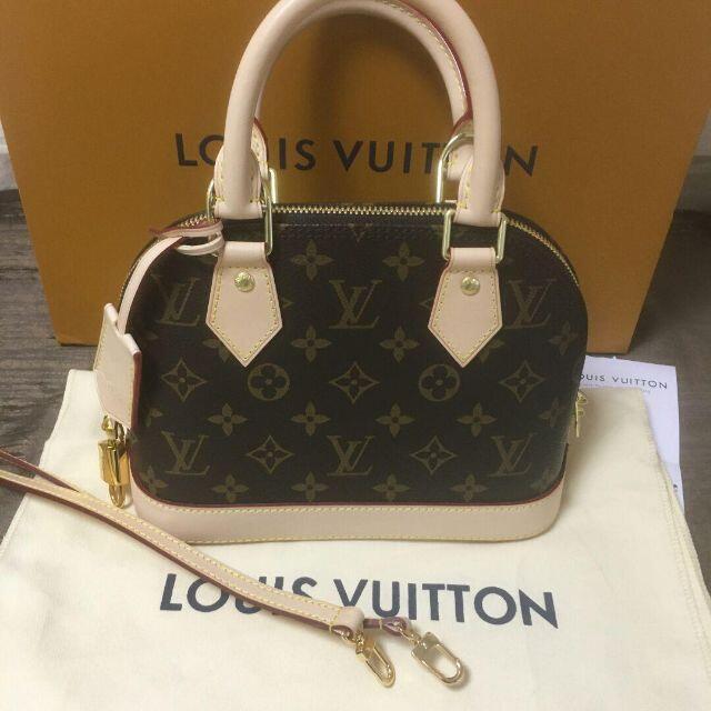 LOUIS VUITTON(ルイヴィトン)のルイヴィトン アルマBB モノグラム 2wayショルダー ハンドバッグ レディースのバッグ(ショルダーバッグ)の商品写真