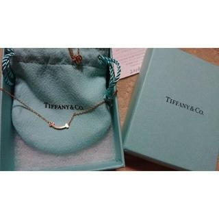 Tiffany & Co. - Tiffany スマイルネックレス ローズゴールド18k