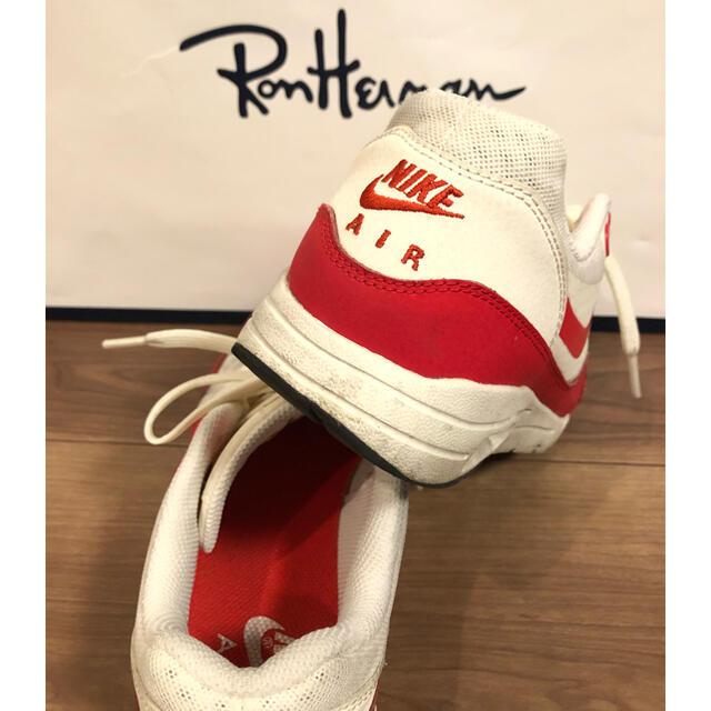 NIKE(ナイキ)のNIKE ナイキ エアマックス スニーカー ロンハーマン赤 白 レディースの靴/シューズ(スニーカー)の商品写真