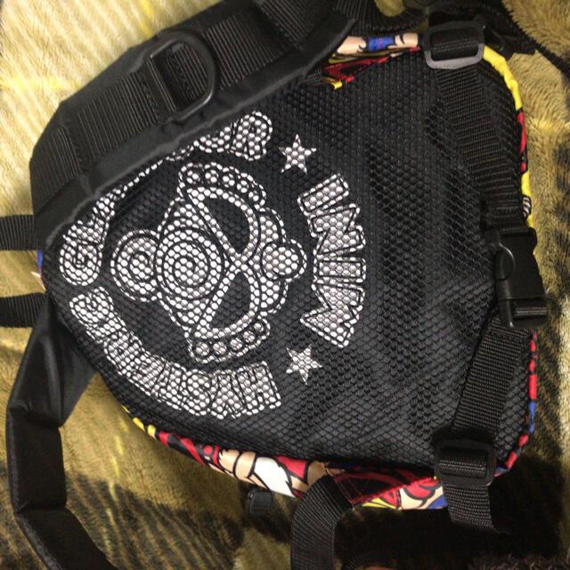 HYSTERIC MINI(ヒステリックミニ)の総柄リュック キッズ/ベビー/マタニティのこども用バッグ(リュックサック)の商品写真