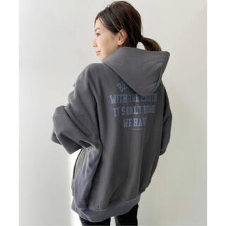 L'Appartement DEUXIEME CLASSE - アパルトモン AMERICANA Back Print Big Parka