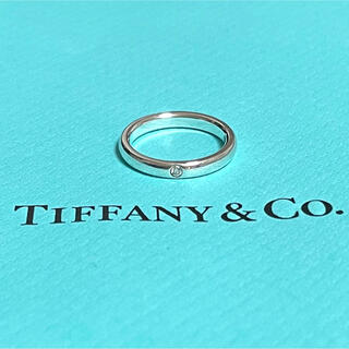 Tiffany & Co. - ティファニー スタッキング バンド リング ダイヤモンド 指輪 7号 8号