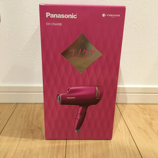 Panasonic - ナノケアヘアードライヤー ピンク