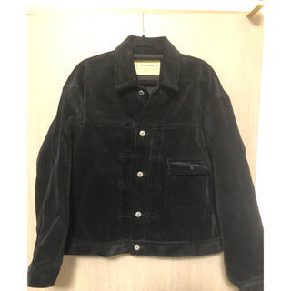 SEVEN BY SEVEN Corduroy Jacket  BLACK