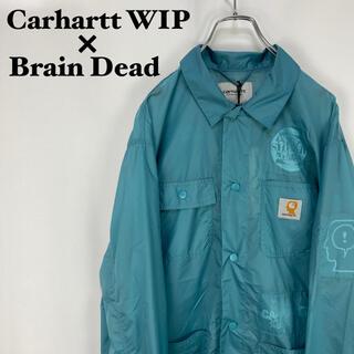 carhartt - 【希少】カーハート WIP × ブレインデッド☆コラボ シャツジャケット