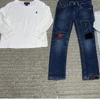 ポロラルフローレン(POLO RALPH LAUREN)のラルフローレン ロンtシャツ サイズ90 24m デニムは4T(その他)