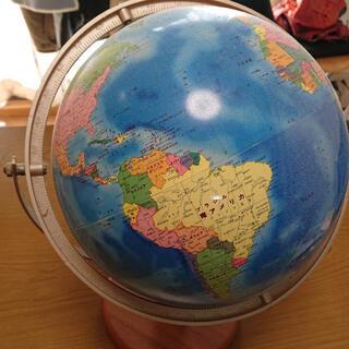 本日限り大幅値下げ  地球儀 (知育玩具)