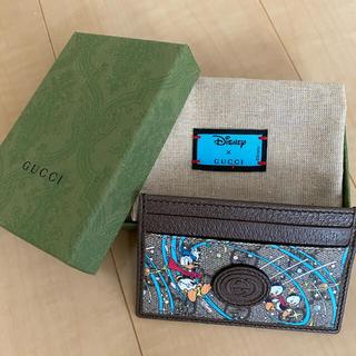 Gucci - Disney×GUCCI  ドナルド カードケース