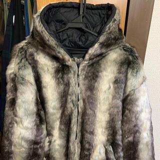 Supreme - supreme faux fur jkt bandana box logo
