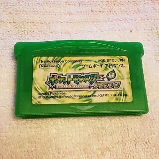 ポケットモンスター リーフグリーン(携帯用ゲームソフト)