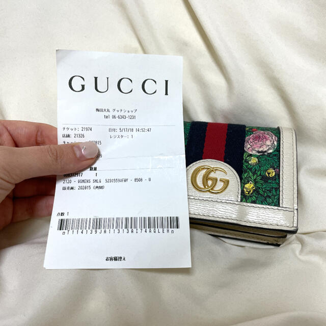 Gucci(グッチ)の【gucci】ヒグチユウコ✖︎gucci ミニ財布 レディースのファッション小物(財布)の商品写真