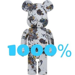 MEDICOM TOY - BE@RBRICK Jackson Pollock Studio 1000%