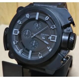 DIESEL - 美品 新品電池交換済み DIESEL DZ-4243 アナログ 腕時計 メンズ