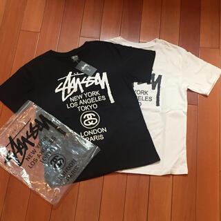 STUSSY - stussy サイズM黒白二枚セット半袖 Tシャツ