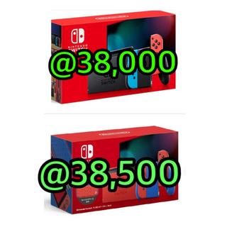 Nintendo Switch - 任天堂Switch 本体 ネオン グレー マリオレッド セット