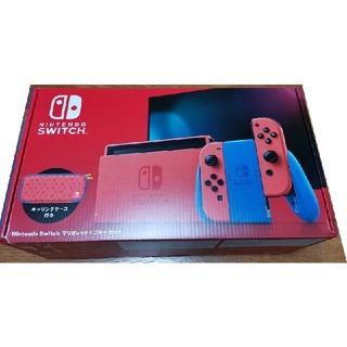 Nintendo Switch - 箱破損 Switch マリオレッド ブルーセット
