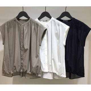 Theory luxe - Theory luxe 19ss フレンチスリーブブラウス