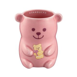 Starbucks Coffee - スターバックス台湾 2021年 桜 マグカップ クマ ピンク さくら