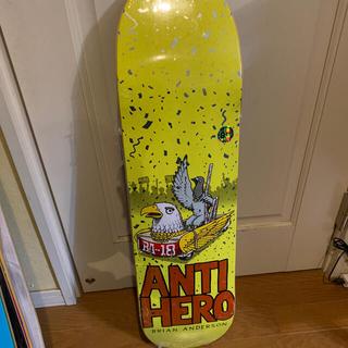アンチヒーロー(ANTIHERO)のANTIHERO Brian Anderson 1st model(スケートボード)