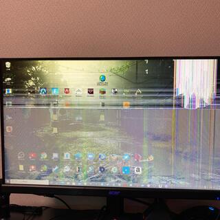 エイサー(Acer)の【ジャンク品】144Hz acerゲーミングモニター(ディスプレイ)