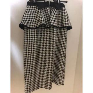 STRAWBERRY-FIELDS - 新品ストロベリーフィールズペプラムスカート♡ジルスチュアートアプワイザーリッシェ