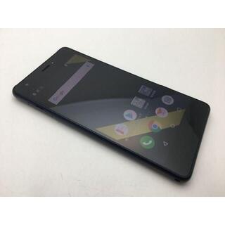 京セラ - SIMフリー美品au Qua phone QZ KYV44 インディゴ450