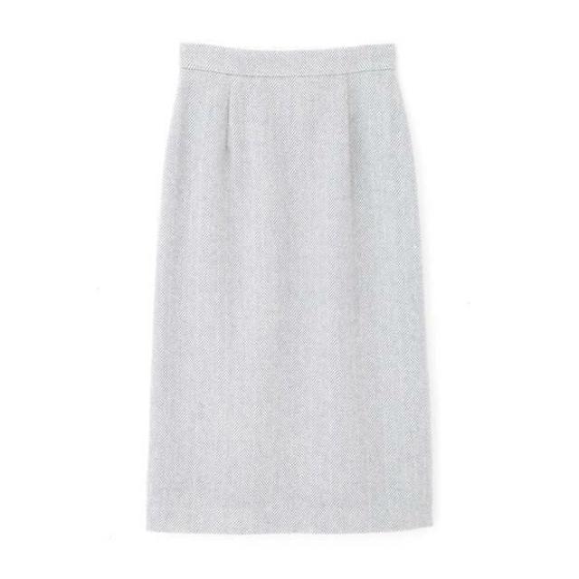 PROPORTION BODY DRESSING(プロポーションボディドレッシング)のプロポーションボディドレッシング ヘリンボーンロングタイトスカート レディースのスカート(ロングスカート)の商品写真