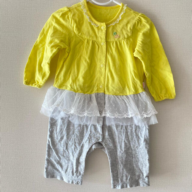 mikihouse(ミキハウス)のMIKIHOUSE ロンパース キッズ/ベビー/マタニティのベビー服(~85cm)(ロンパース)の商品写真