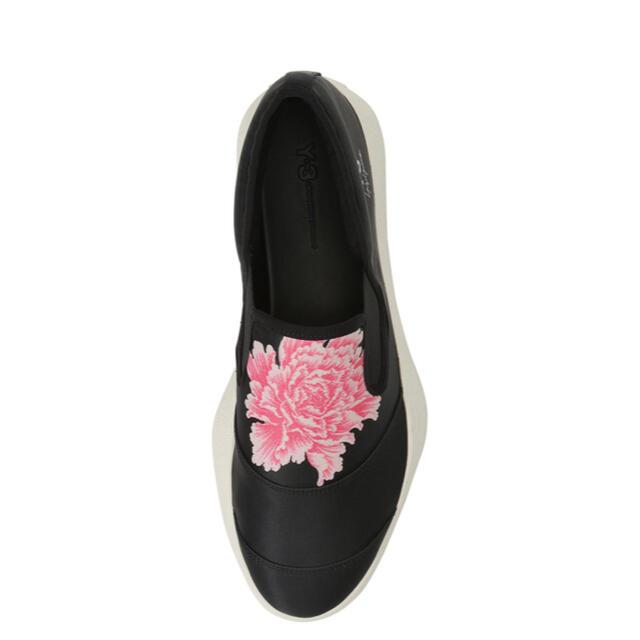 Y-3(ワイスリー)の在庫品薄■Y-3 Flowerスリッポン■ メンズの靴/シューズ(スニーカー)の商品写真