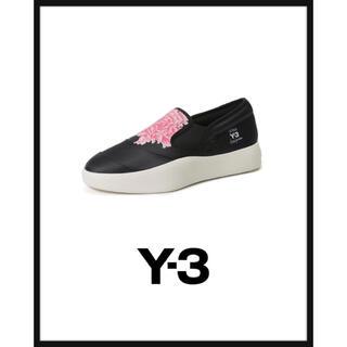 Y-3 - 在庫品薄■Y-3 Flowerスリッポン■