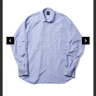 1LDK SELECT - DAIWA PIER39 Sサイズ Tech Work Shirts-Sax