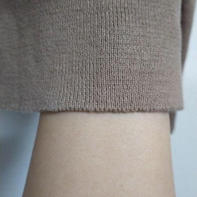 URBAN RESEARCH ROSSO(アーバンリサーチロッソ)のカシミヤ混コットン✨なめらか肌触りVネックニット モカブラウン レディースのトップス(ニット/セーター)の商品写真