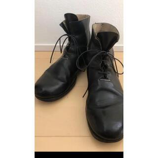 キャロルクリスチャンポエル(Carol Christian Poell)の最安値 新品同様 エムエークロス ma+新作 ブーツ 短靴 42(ブーツ)