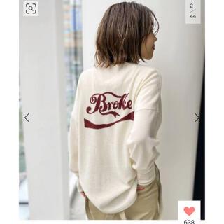 L'Appartement DEUXIEME CLASSE - アパルトモンGOOD GRIEF/グッドグリー カシミア Logo Knit新品