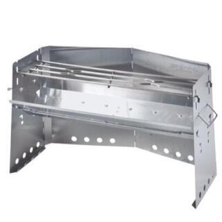 ユニフレーム(UNIFLAME)のユニフレーム 薪グリル ラージ 新品未使用 焚き火台 BBQ(調理器具)