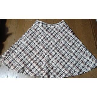 レッセパッセ(LAISSE PASSE)のレッセパッセ チェックツイードスカート(ひざ丈スカート)